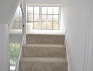 photo of loft conversion stairs and window 2